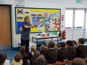 Preventative dentistry presentation to prevent tooth decay in UK children